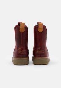 Panama Jack - FILIPA IGLOO NATURE - Kotníkové boty na platformě - rojo/red - 3