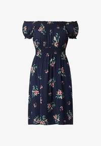 APRICOT - OFF-SHOULDER AUS VISKOSE - Jersey dress - marineblau - 3