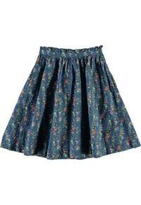 Molo - BRISANI - A-line skirt - vertical flora mini - 1