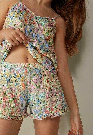 Pyjama bottoms - floral print