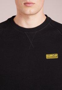 Barbour International - ESSENTIAL CREW  - Sweatshirt - black - 4