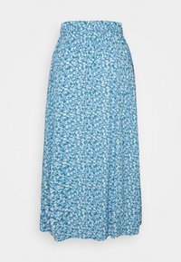 Lindex - SKIRT - A-line skirt - dusty blue - 1
