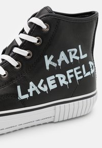 KARL LAGERFELD - KAMPUS BRUSH LOGO - Zapatillas - black - 5