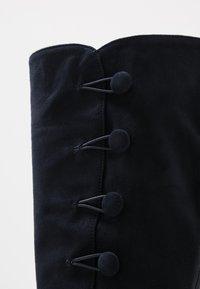 Alberto Zago - High heeled boots - blue - 2