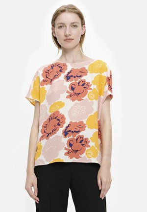 Bluser - peach/ yellow/coral
