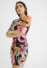 Desigual - DESIGNED BY MARIA ESCOTÉ: - Vestido de punto - multi-coloured - 3