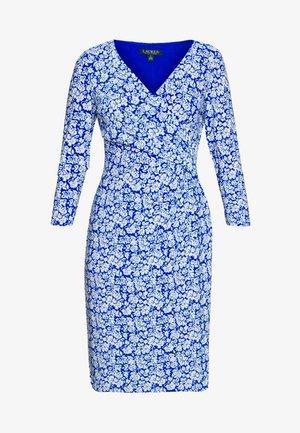 PRINTED MATTE DRESS - Jersey dress - regal sapphire