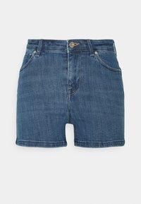 ONLPOWER LIFE MID PUSHUP   - Shorts di jeans - light blue denim