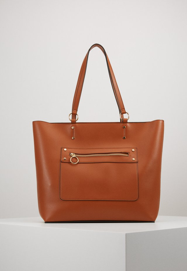 TORI UNLINED TOTE - Cabas - tan