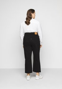 Levi's® Plus - RIBCAGE STRAIGHT - Straight leg jeans - black heart - 2