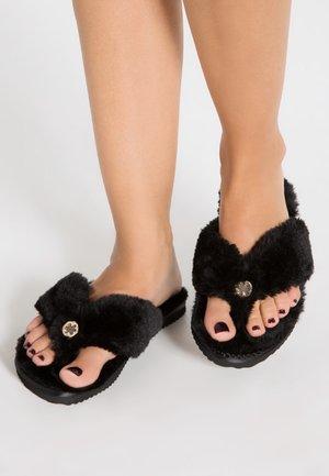 ORIGINAL  - T-bar sandals - black