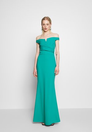 OFF THE SHOULDER DRESS - Iltapuku - teal