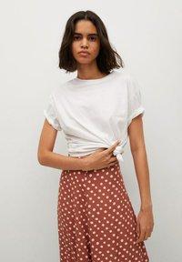 Mango - A-line skirt - braun - 3