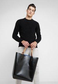 Marni - Shopping Bag - black/blue - 1
