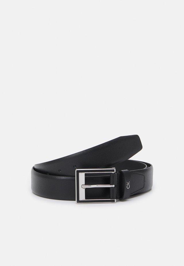 TWO STEP - Formální pásek - black