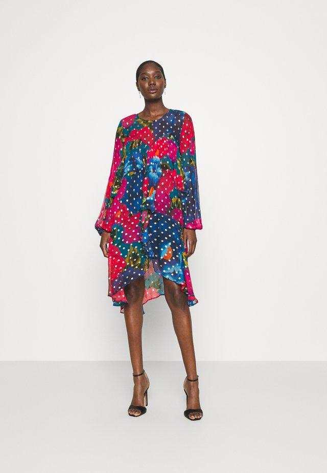 BLOOM MINI DRESS - Vapaa-ajan mekko - multi-coloured