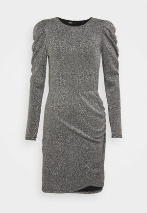 ONLDONNA DRESS - Cocktailkjoler / festkjoler - dark grey