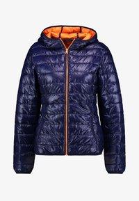 TOM TAILOR DENIM - HOODED PUFFER - Zimní bunda - dusky blue - 3