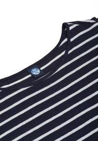 North Sails - Print T-shirt - dark blue - 3