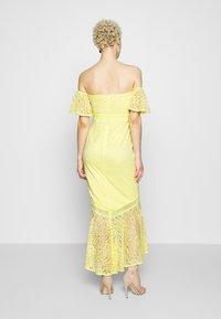 Little Mistress Tall - Společenské šaty - lemon zest - 2
