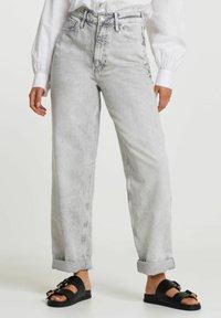 River Island - Straight leg jeans - grey - 0