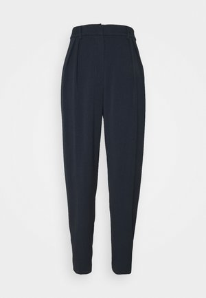 PANTS PLEATED TAPERED - Trousers - sky captain blue