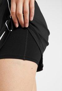 Nike Performance - DRY SKIRT - Sportovní sukně - black/white - 3