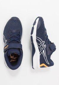 ASICS - GT-1000 9 UNISEX - Stabilty running shoes - peacoat/white - 0