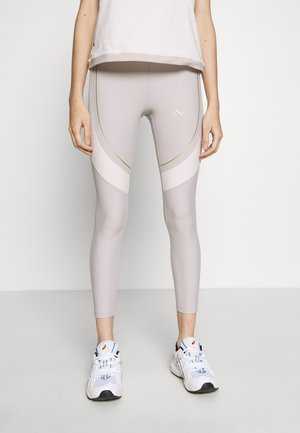 ONPJACINTE TRAINING TIGHTS PETIT - Leggings - ashes of roses/lilac ash/white