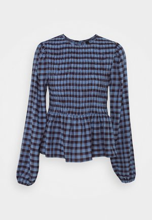 YASBLUMA SMOCK  - Blusa - country blue