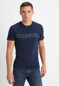 Diesel - UMLT-JAKE - T-shirt imprimé - dark blue - 0