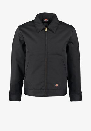 LINED EISENHOWER JACKET - Light jacket - black