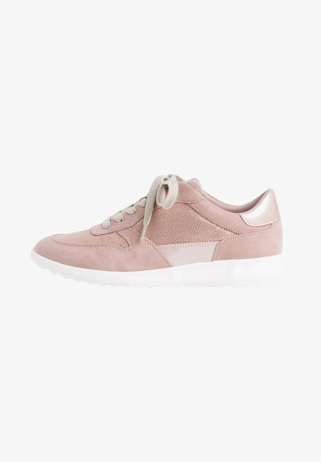 Sneakers laag - old rose