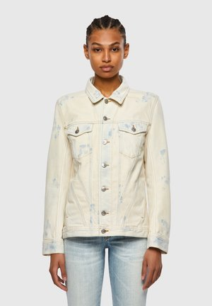 DE NALI SP - Denim jacket - blue/white