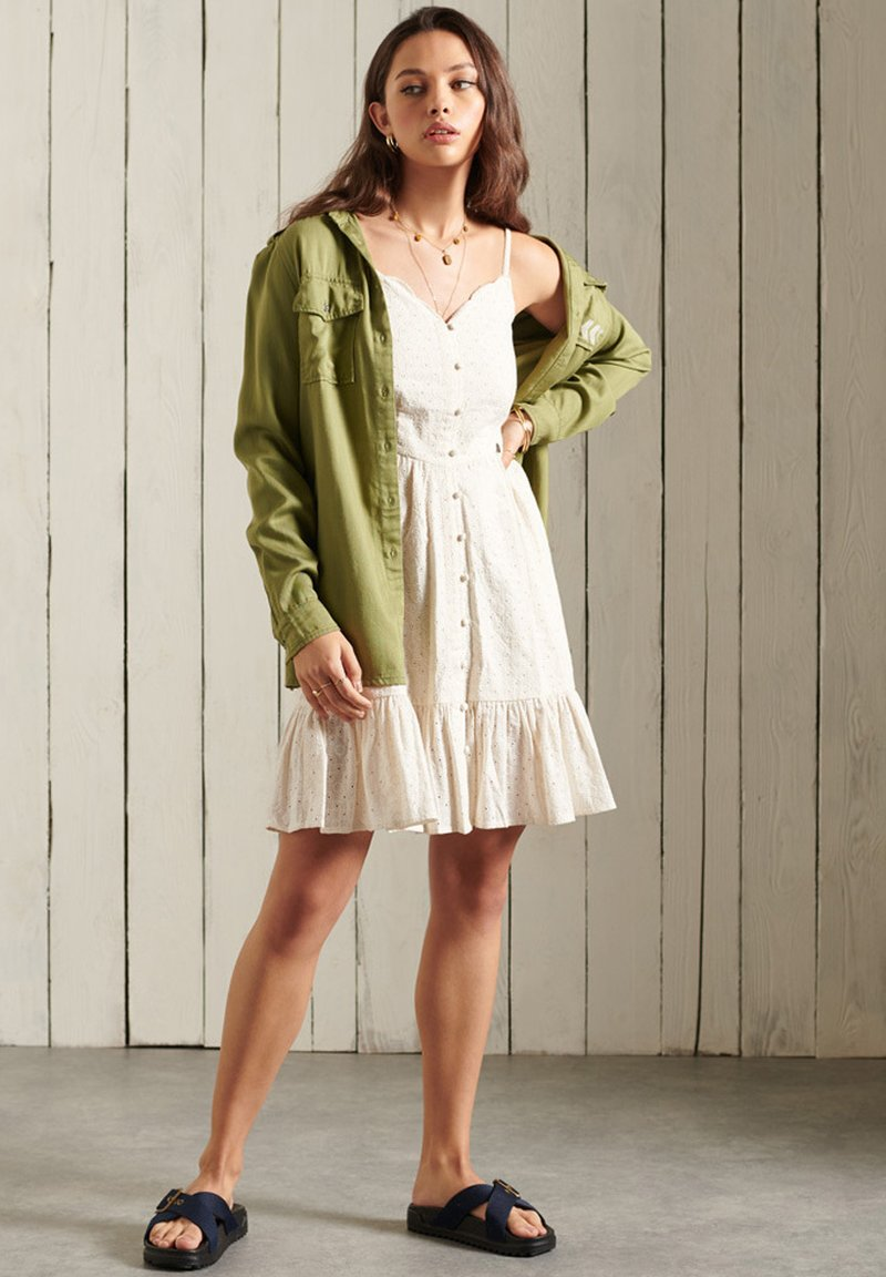 Superdry - Cocktail dress / Party dress - cream