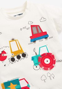 Next - Print T-shirt - off-white - 2