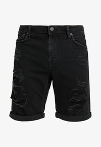 Jack & Jones - Denim shorts - black denim - 4