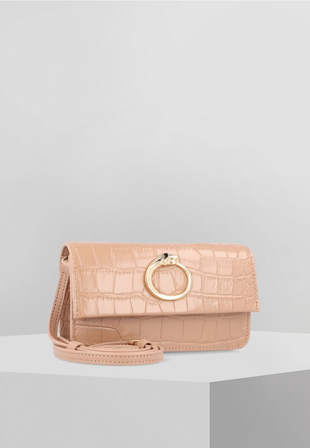 ELOISE - Across body bag - beige