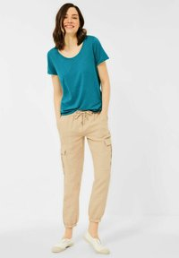 Cecil - BASIC STYLE - Basic T-shirt - blau - 1