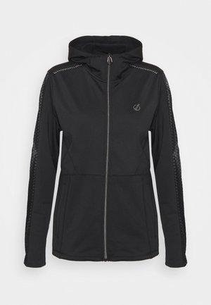 EMANATION HOODIE - Fleece jacket - black