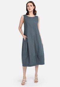 HELMIDGE - Day dress - dunkel grun - 1