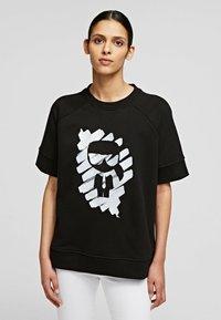 KARL LAGERFELD - T-Shirt print - black - 0