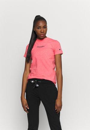 CREW NECK ROCHESTER - Print T-shirt - pink