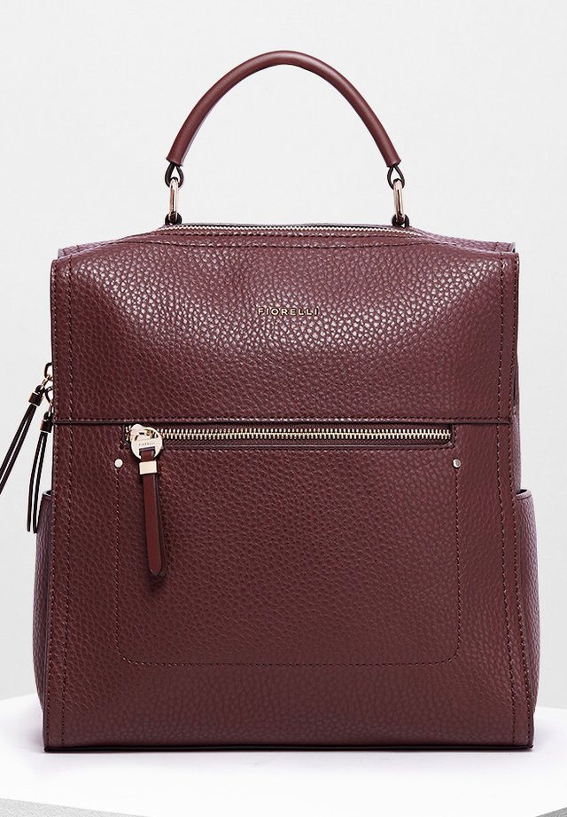 ANNA LARGE CASUAL GRAIN - Rucksack - chocolate