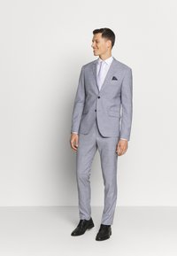 Lindbergh - CHECKED SUIT - Completo - lt grey check - 1