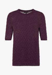 Soeur - DELON - T-shirt z nadrukiem - violet - 4