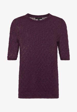 DELON - Print T-shirt - violet