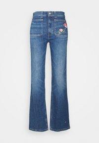 Polo Ralph Lauren - JENN FULL LENGTH FLARE - Bootcut jeans - blue - 5