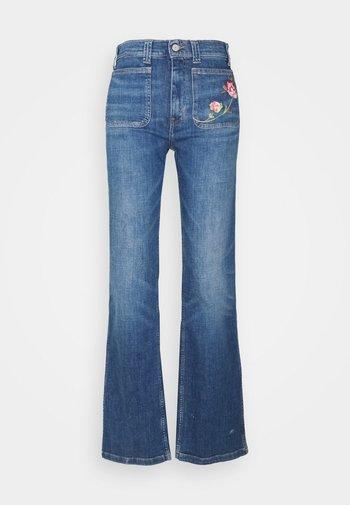 JENN FULL LENGTH FLARE - Bootcut jeans - blue
