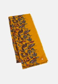 Esprit - FLOWER SCARF - Scarf - yellow - 0